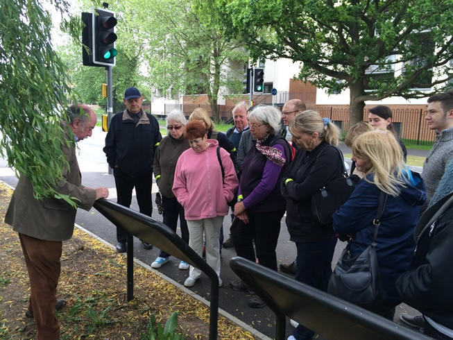 Guided Walk on the Film & Television Heritage Trail