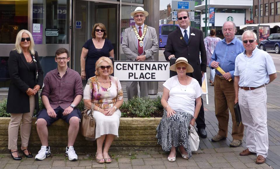 """From """"Central Place"""" to """"Centenary Place"""""""